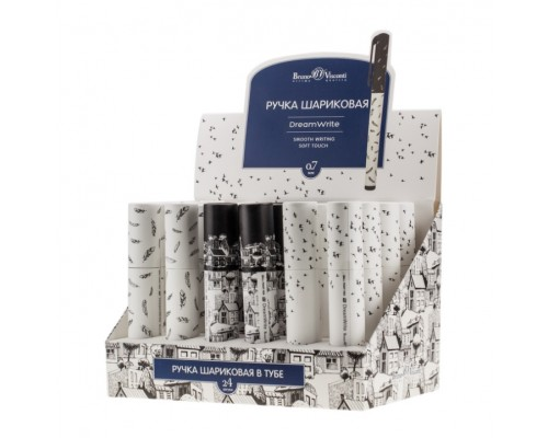 """Ручка подарочная """"DreamWrite.Черно-белая романтика"""" в футляре"""