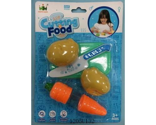 Набор овощей для резки, пластик FA03-11