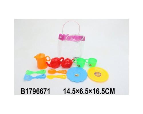 Набор посуды пластик в сумке в кор.B1796671