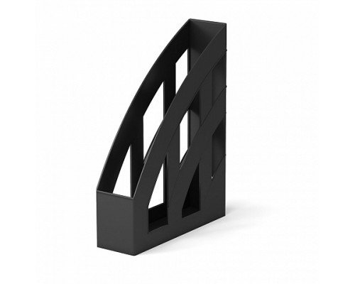 Лоток для бумаг вертикальный ErichKrause Office, 75мм, черный
